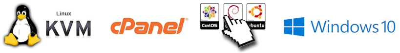 kvm cpanel centos windows - EUROPEAN VPS